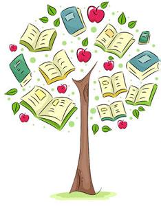 tree-apples-books